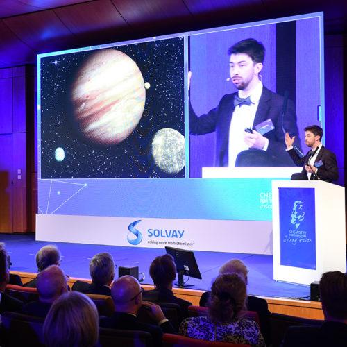 Chemistry for the Future Solvay Prize November 2017